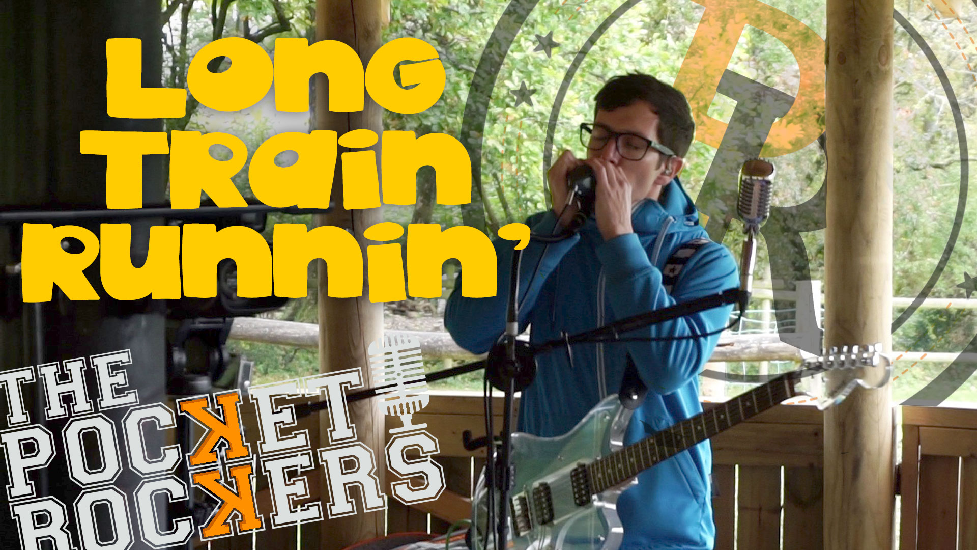 Thumbnail for the music video Long Train Running performed by The Pocket Rockers