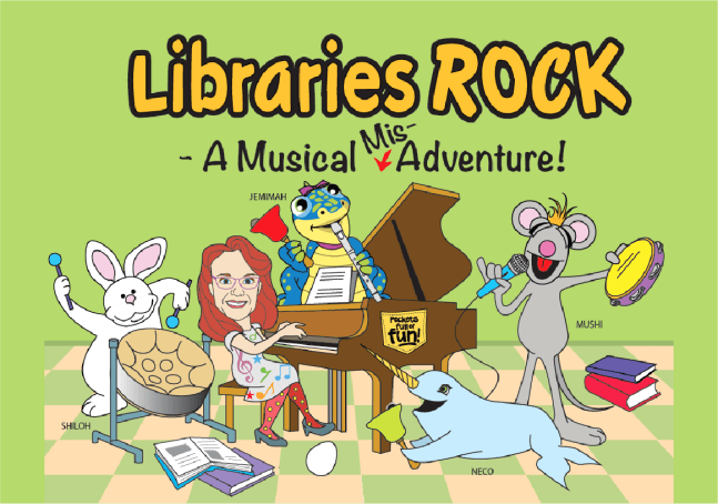 Libraries ROCK – A Musical Mis-Adventure!