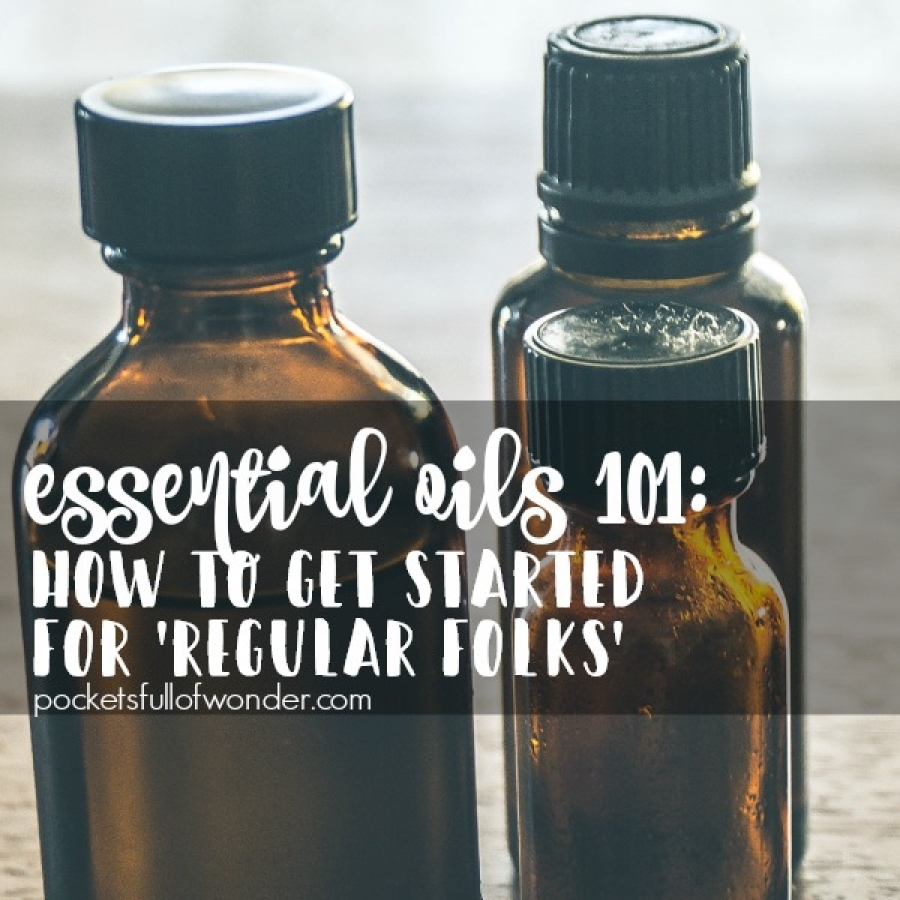 Essential Oils for Regular Folks