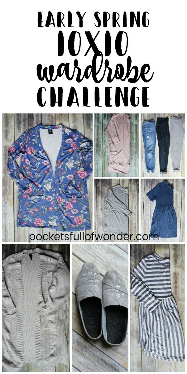 Early Spring 10x10 Wardrobe Challenge