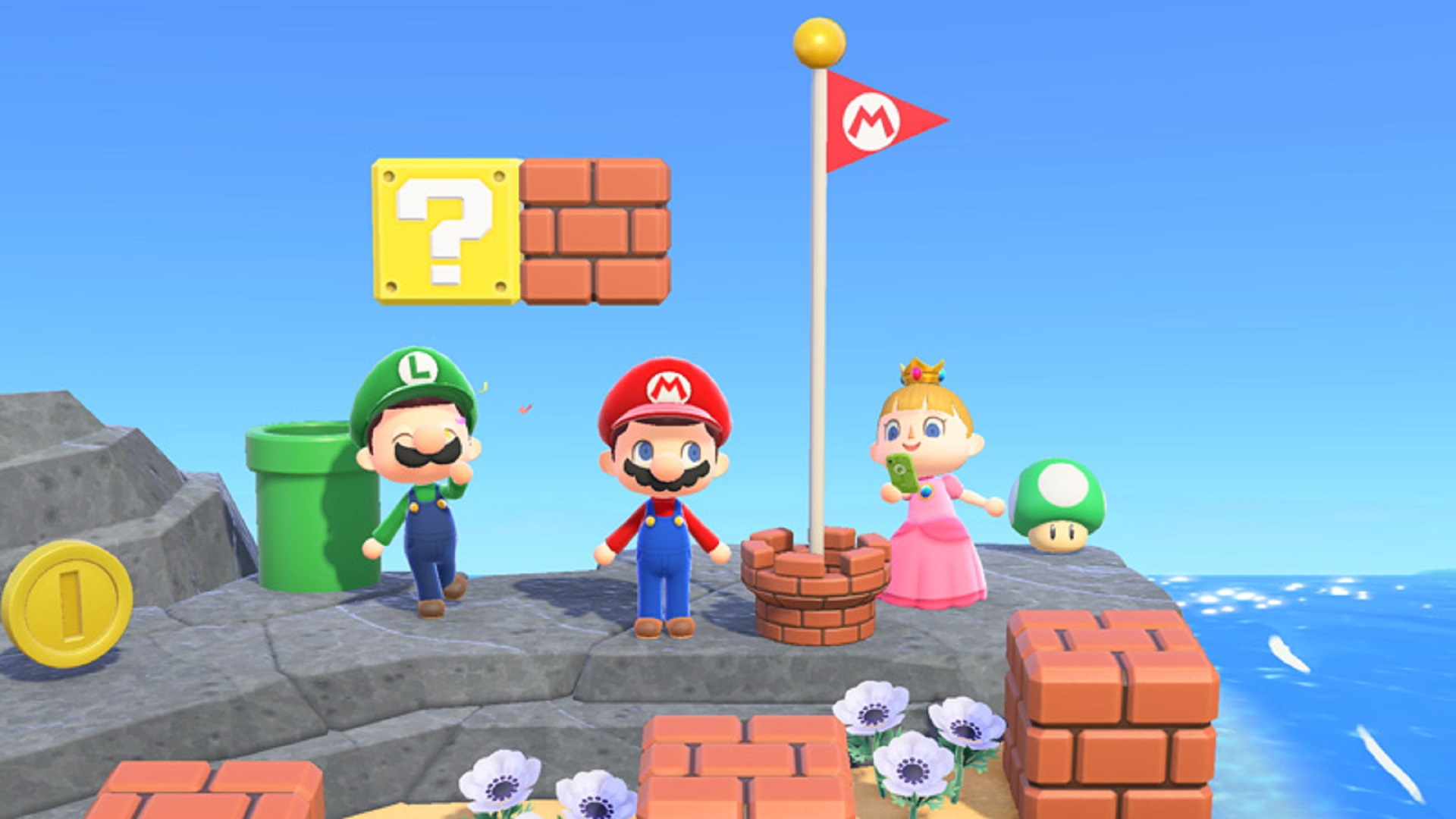 Animal Crossing New Horizons Update Celebrates Mario S