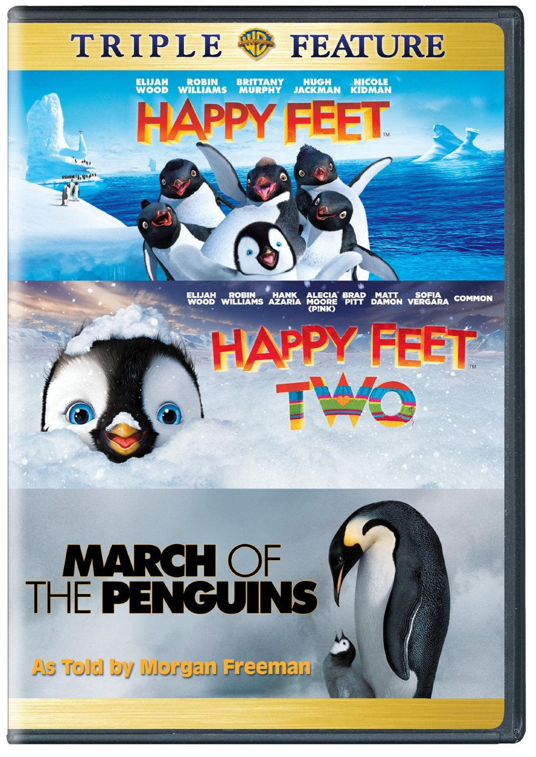 Happy Feet DVD Box Set For 6 Free Shipping From Amazon