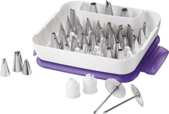 Wilton Baking   Cake Decorating Tools at Best Prices Ever wilton master decorating tip set 55 piece decorating