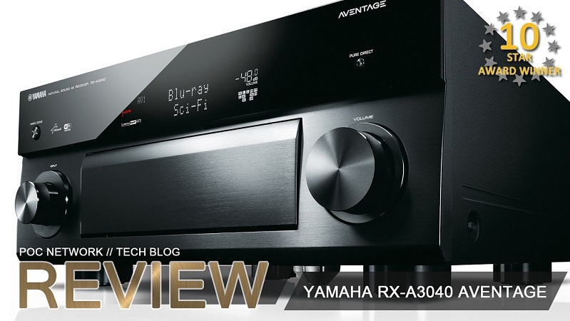 Review: Yamaha's New RX-A3040 Aventage 11.2 Channel 4K Receiver