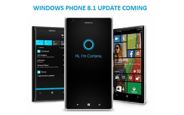 Windows Phone 8.1 Update Coming Soon