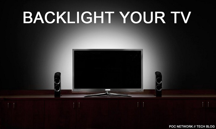 Backlight your TV with Antecu0027s LED Bias Lighting for less strain in the dark & Backlight your TV with Antecu0027s LED Bias Lighting for less strain ... azcodes.com