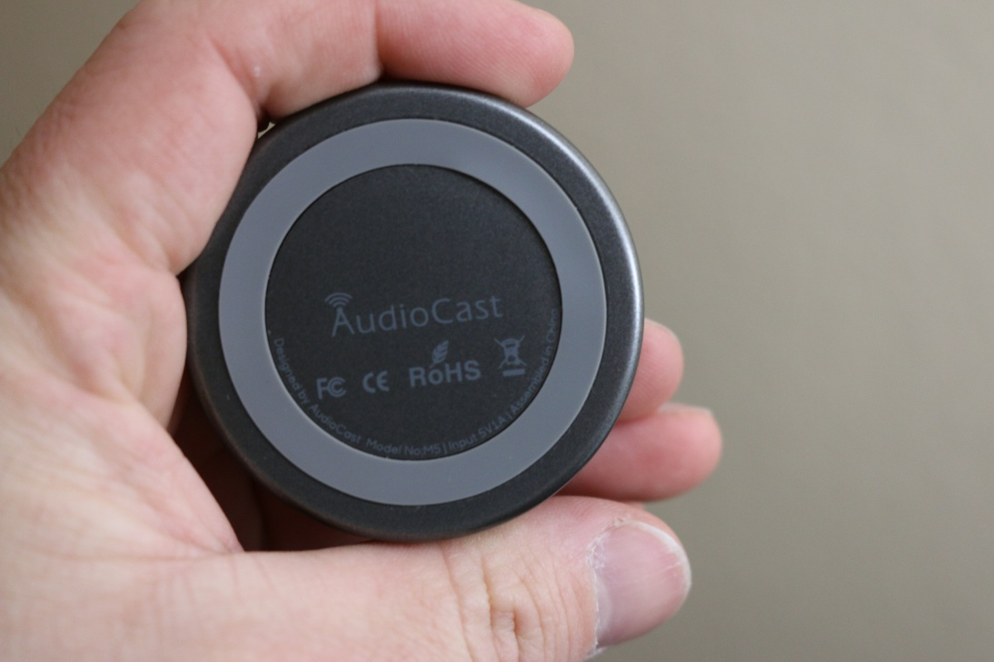 Review: AudioCast M5 wireless multi-room audio streaming device | Poc  Network // Tech