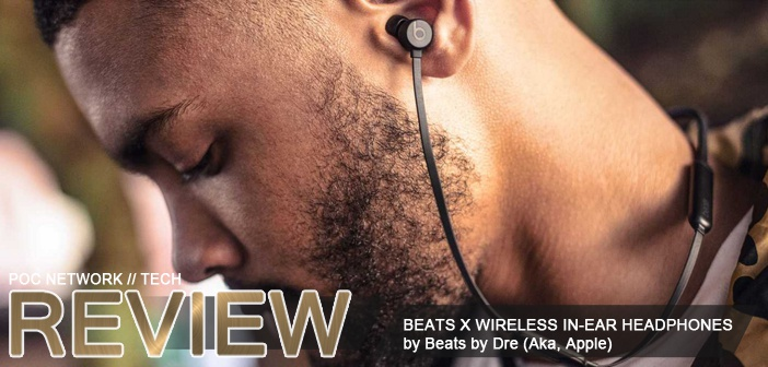 Review: Beats X wireless in-ear headphones by Dre (Apple)