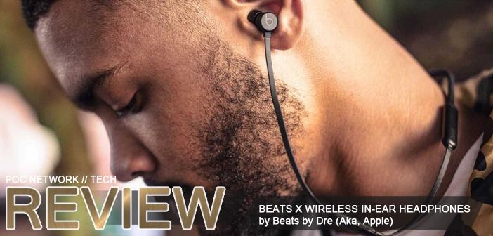 Review: Beats X wireless in-ear headphones by Dre (Apple)
