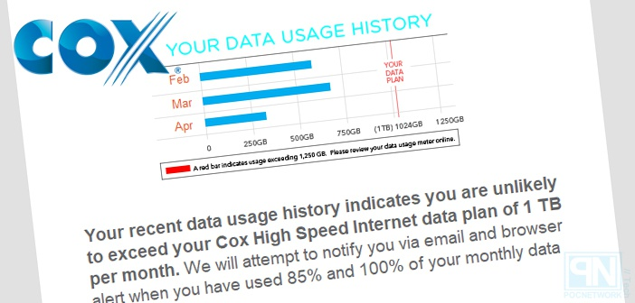 Cox Cable Internet Is Changing Their Monthly Cap To 1tb