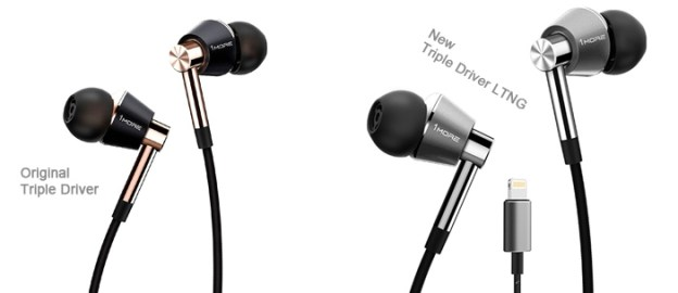 Auriculares 1more Triple Driver Ltng In Ear Para Ios