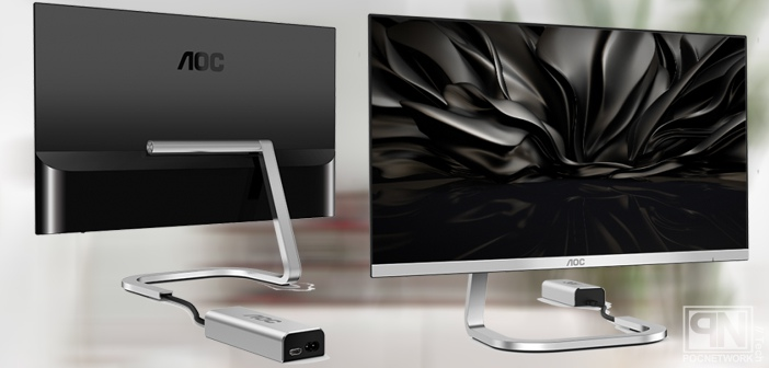 Lovely New AOC IPS 1080p monitors that hide the cable mess | Poc Network  MT02