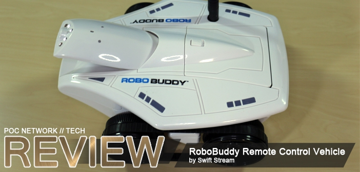 Review: RoboBuddy Remote Control Vehicle with Camera | Poc