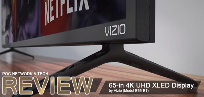 Review Vizio 65 In 4k Uhd Xled Home Theater Display E65