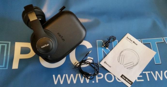 Earfun Wave Over Ear Bluetooth Headphones In The Club