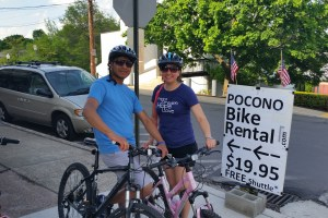 Hotel Shuttle Service for Poconos Fun Outdoor Biking and Rafting Adventures