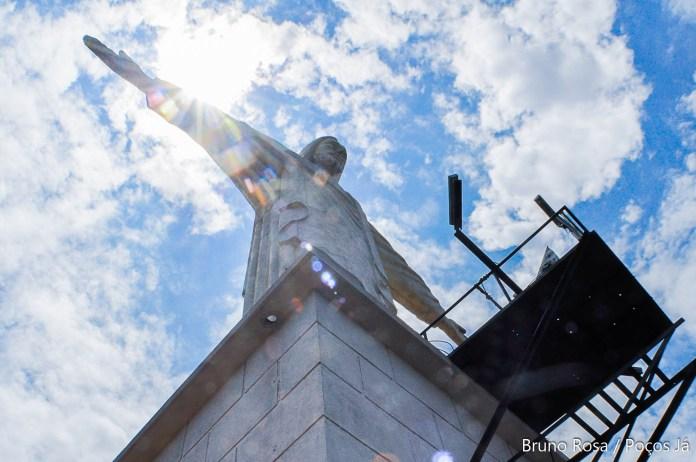 Estátua foi inaugurada em 1958.