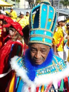 Luís Siqueira é rei do congo há 45 anos