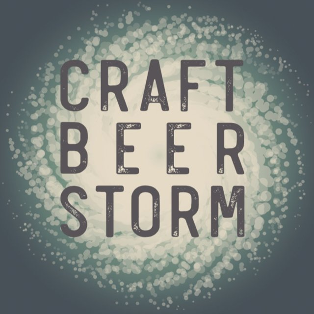 Craft Beer Storm Podcast Art