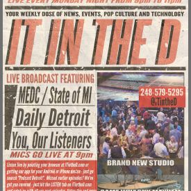 IT In The D – Episode 120 – MEDC, CYBOC, Daily Detroit