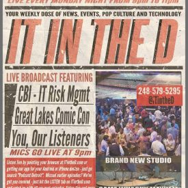 ITintheD Ep129 – CBI, Great Lakes Comic Con