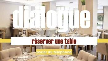 Modifier une réservation au restaurant