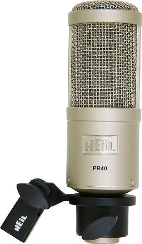 Heil PR-40 podcasting microphone