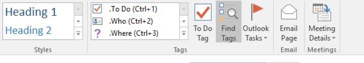 Using OneNote as GTD system