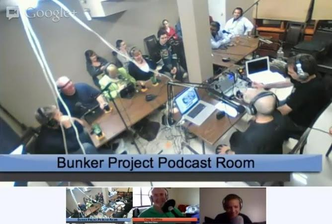 The Bunekr Project Podcast and Google Hangout