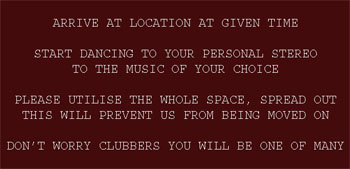 Mobile clubbing rules