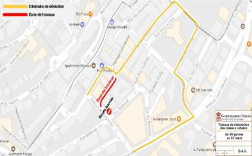 La phase 1 des travaux (c) DR. Cliquez ici pour consulter la carte interactive des chantiers en Principauté