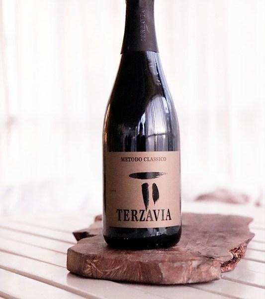 Sparkling wine Terzavia Metodo Classico - Brut Sicilia DOC