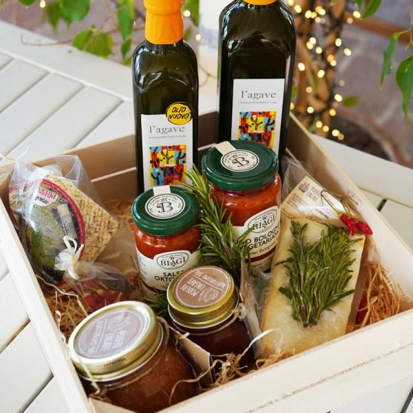 pacco regalo prodotti biologici