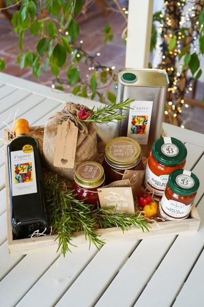 pacco regalo prodotti vegetariani