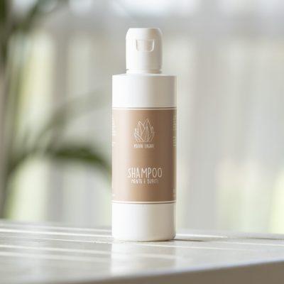Shampoo Menta e Buriti
