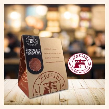 Biscotti Fortini Cioccolato fondente Podere San Felice