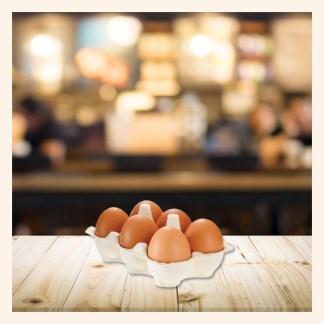 Uova rosse podere San Felice