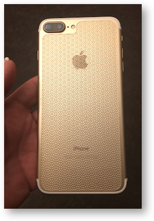 iphone back in gold