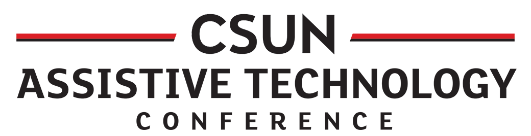 CSUN Assistive Tech conference logo