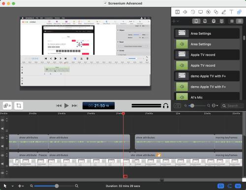 Example ScreenFlow File
