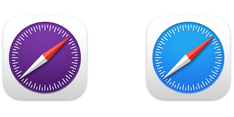 Safari Technology Preview and Released Logos