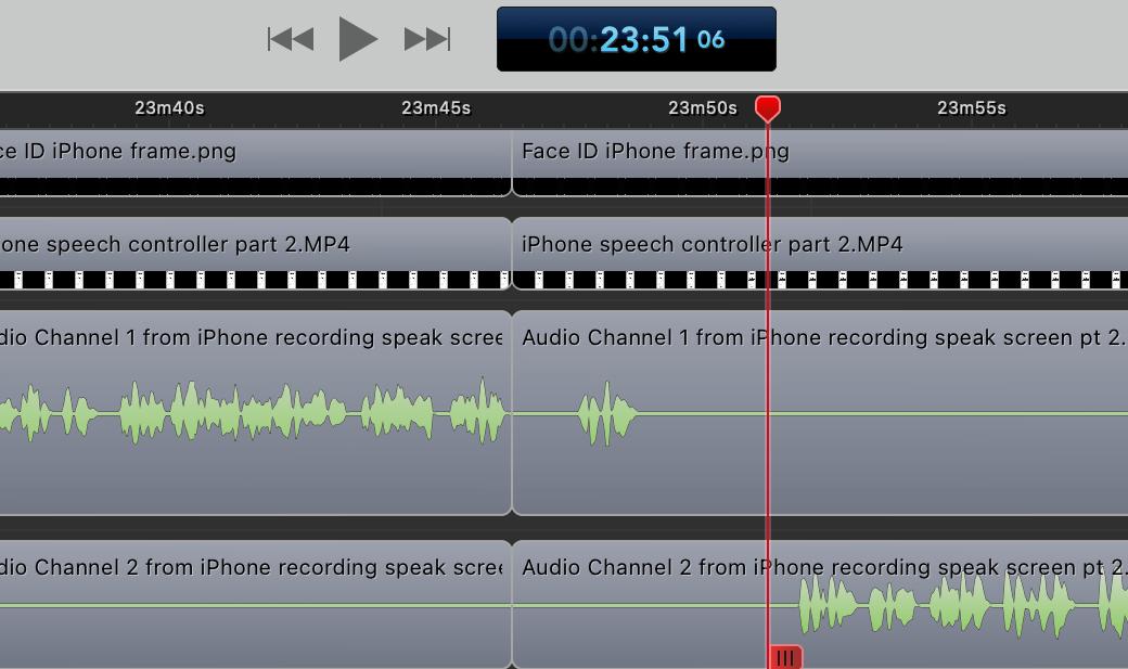 ScreenFlow Audio Tracks
