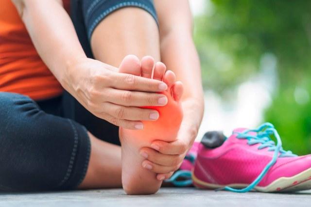 Tratamiento de pie de atleta