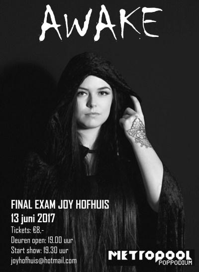 Eindconcert Joy Hofhuis