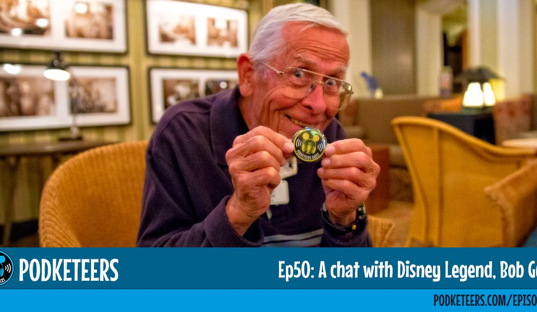 Ep50: A chat with Disney Legend, Bob Gurr