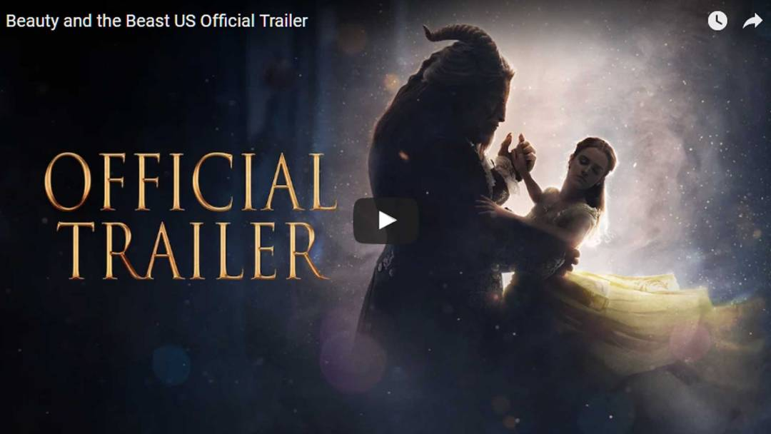 Newest trailer for Disney's Live-action Beauty and the Beast!