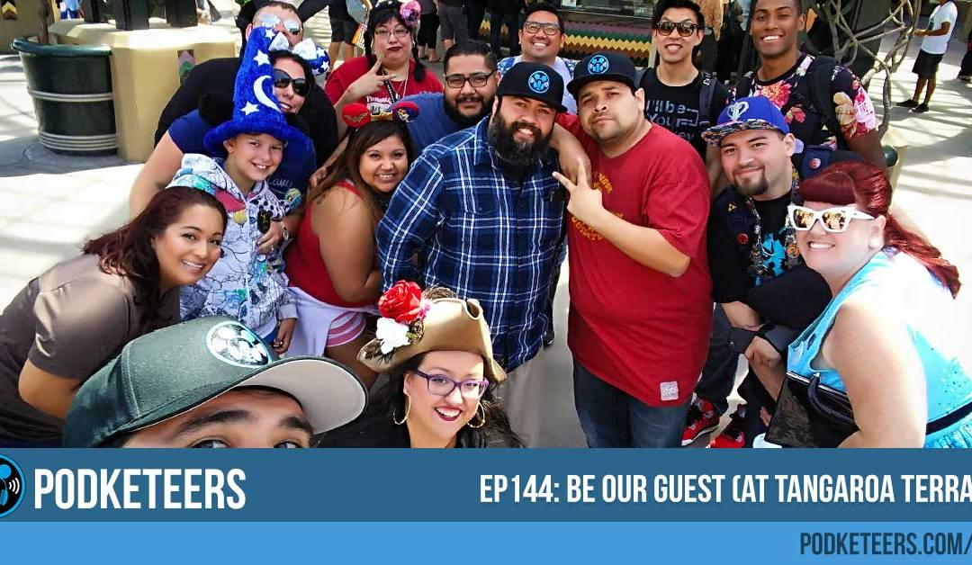 Ep144: Be our guest (at Tangaroa Terrace)