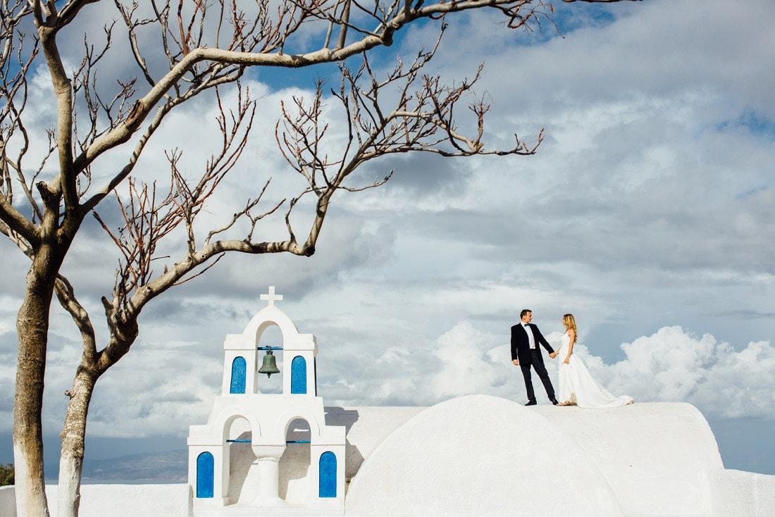 Hochzeitsfotos Santorini
