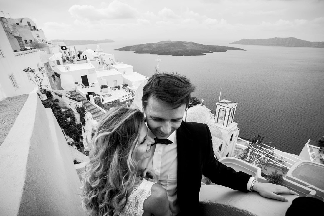 Santorini Hochzeitsfotograf