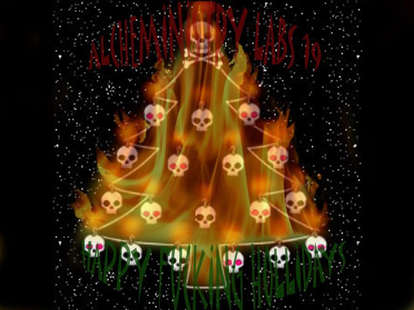 mah tree is on fire! aint got no tree!